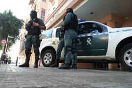 Drogenrazzia in mehreren Stadtvierteln von Palma