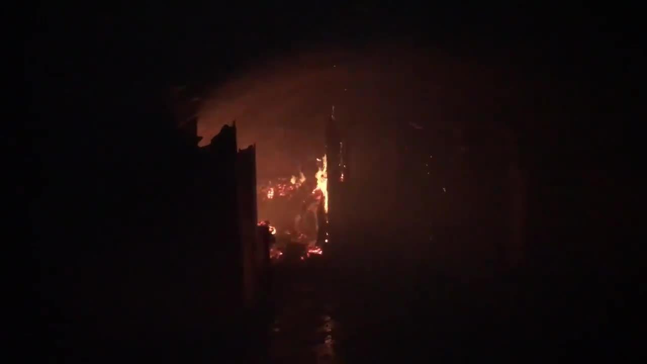 Hotelbrand in Mallorcas Inselhauptstadt
