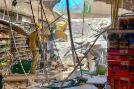 Supermarkt in Palmas Stadtmitte eingestürzt