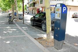 Parkscheinautomaten als Touri-Info in Manacor