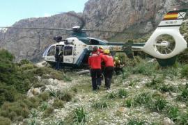 Schwer verletzter Radfahrer per Helikopter gerettet