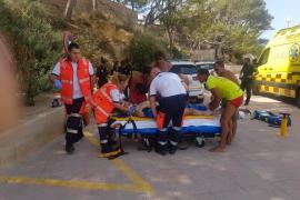Deutscher bei Sturz nahe Peguera schwer verletzt