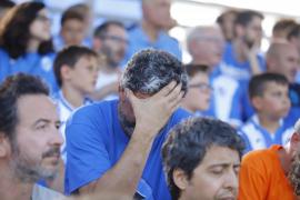 Traurigkeit bei den Fans.