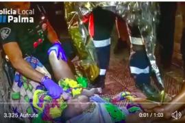 Frau bringt Kind auf offener Straße in Arenal zur Welt