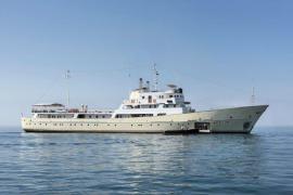 Russisches Ex-Spionageschiff ankert vor Palma