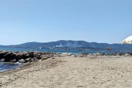 Waldbrand in Cala Major gelöscht