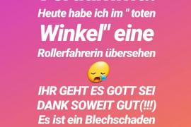 So wandte sich Daniela Büchner im sozialen Netzwerk Instagram an ihre Fans.