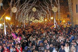Weihnachtslichter in Palma werden am 28. 11. angeknipst