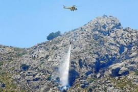 Hitze und Blitze entfachen vier Waldbrände auf Mallorca