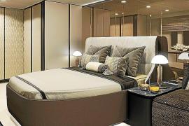 So in etwa könnte das Schlafzimmer des Tennisstars aussehen.