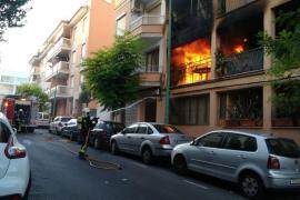 14 Verletzte bei schwerem Wohnungsbrand in Arenal