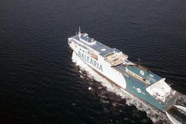 Mallorca-Fährunternehmen setzt neues Gas-Schiff ein