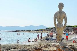 Strandtipp auf Mallorca: Son Bauló, Baden mit Brise