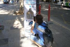 Trinkwasserspender auf Platz in Palma eingerichtet