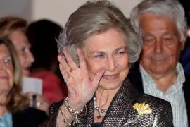Altkönigin Sofía ist schon da, Felipe VI. kommt später
