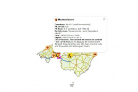 Teil der Flughafen-Autobahn auf Mallorca wird gesperrt