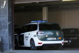 Fahrzeug der Guardia Civil.