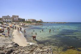 Strandtipp 1: Auf der Cala Galiota unter Mallorquinern