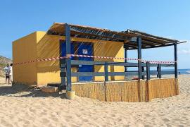 Hickhack um Strandbar in der Cala Torta