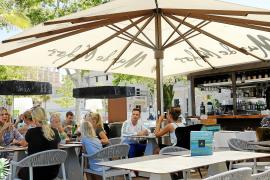 Fünf Bars in Palma mit schattigen Terrassen-Plätzen