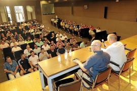 Die Gewerkschaft kam am Dienstag zu einer Versammlung zusammen.