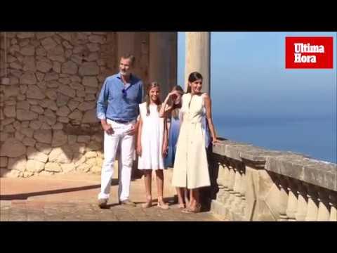 Königsfamilie besucht Traumanwesen Son Marroig