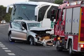 Frau stirbt bei Autounfall in Portocolom
