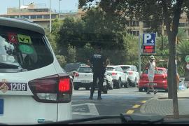 Verkehrskollaps in der Innenstadt von Palma