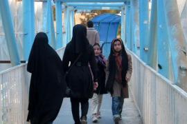Moslemische Kopftuchträgerinnen.