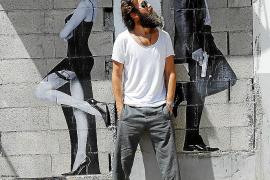 Hollywood-Kunst auf grauen Mauern