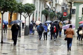Warnstufe Orange wegen Starkregens für Mallorca