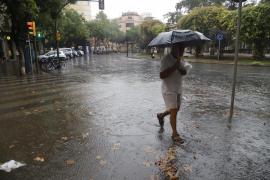 Regen in Palma.