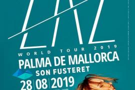 Das offizielle Ankündigungsplakat zum Konzert am 28. August in Palma.