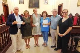 Deutscher sammelt 12.000 Euro für Bedürftige in Alcúdia
