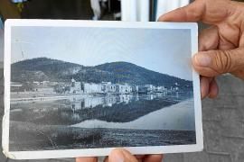 Historischer Blick auf Port d'Andratx.