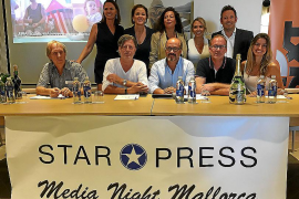Star Press Media Night erstmals mit Spaniern