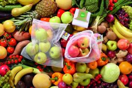 Lidl führt Mehrwegtüten für Obst und Gemüse ein