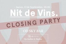 """Letzte """"Nits de Vins"""" in der OD Sky Bar"""