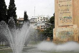 Immer wieder wird das Monument zum Ziel von Graffiti-Sprayern.