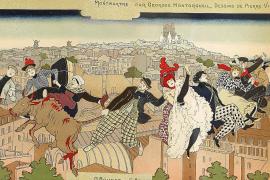 Capa, Toulouse-Lautrec und das Blau der Modernisten