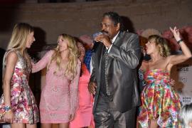 """US-Sänger George McCrae brachte die Gäste der """"Star Press Media Night"""" zum Tanzen."""