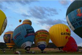 100 Riesenballons schweben im Oktober über Mallorca