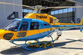 Ein Helikopter jagt Raser und Gurtmuffel