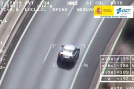 Temposünder mit 192 km/h auf Andratx-Autobahn geknipst