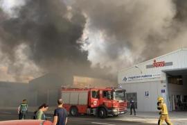 Feuer im Gewerbepark ausgebrochen
