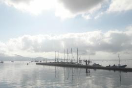 Feuchtes Intermezzo im Anmarsch nach Mallorca