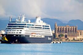 Kreuzfahrtschiffe auf Mallorca immer unbeliebter