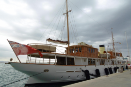 """Die """"Alicia"""" weckt Erinnerungen an vergangenen Epochen der Seefahrt."""