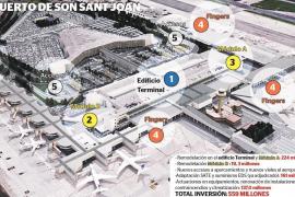 Mallorca-Flughafen soll für 559 Millionen Euro saniert werden