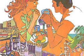 Ein wahres Kunstwerk war die Werbung im Winter 1971/72.